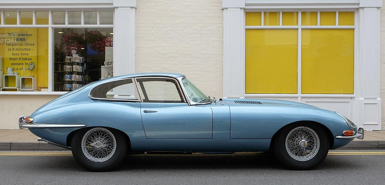 1280Px Jaguar E Type Series 1 Coupé 1964