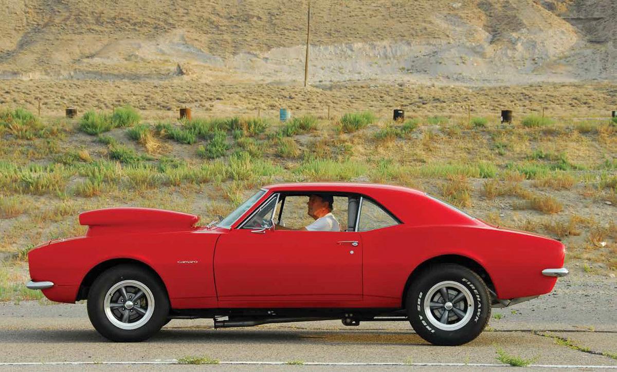 1967 Scarlet Camaro 2