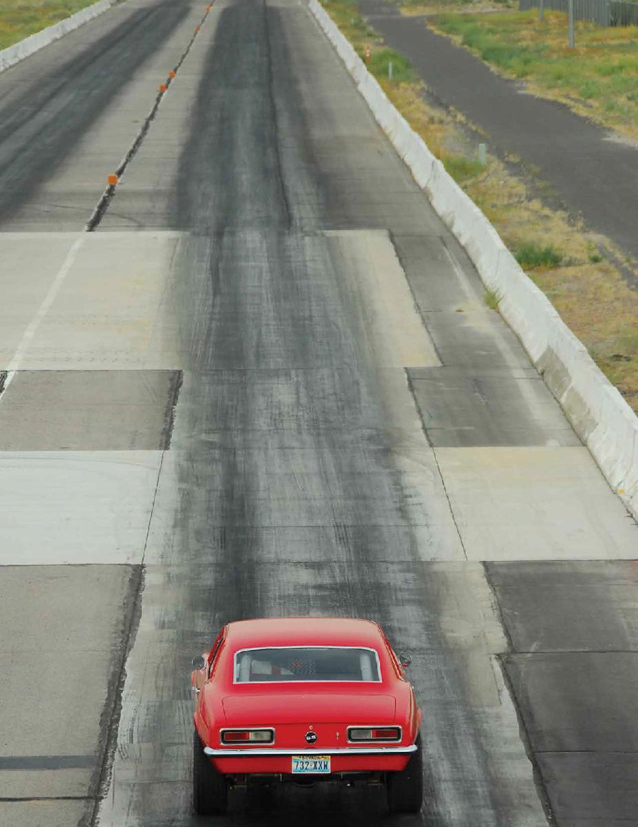1967 Scarlet Camaro 3