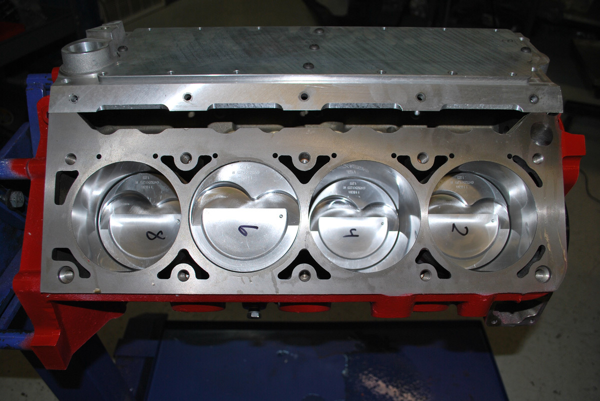 Adapting Ls Cylinder Heads For Small Block Chevy 2