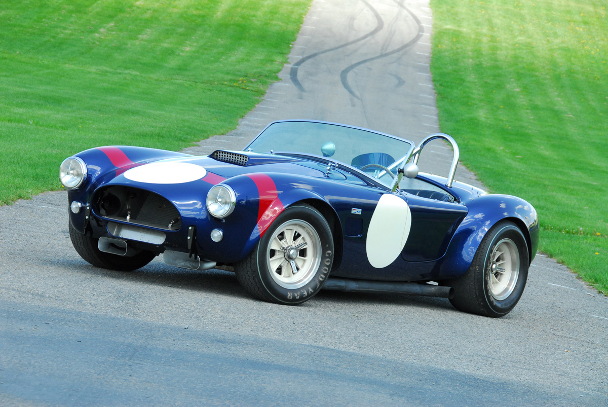 Shelby Cobra race car CSX2323 replicated by 3