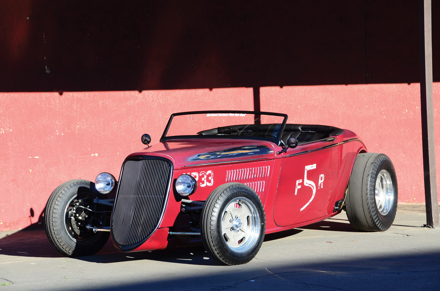 Factory Five S All Steel 33 Hot Rod Reincarnation Magazine