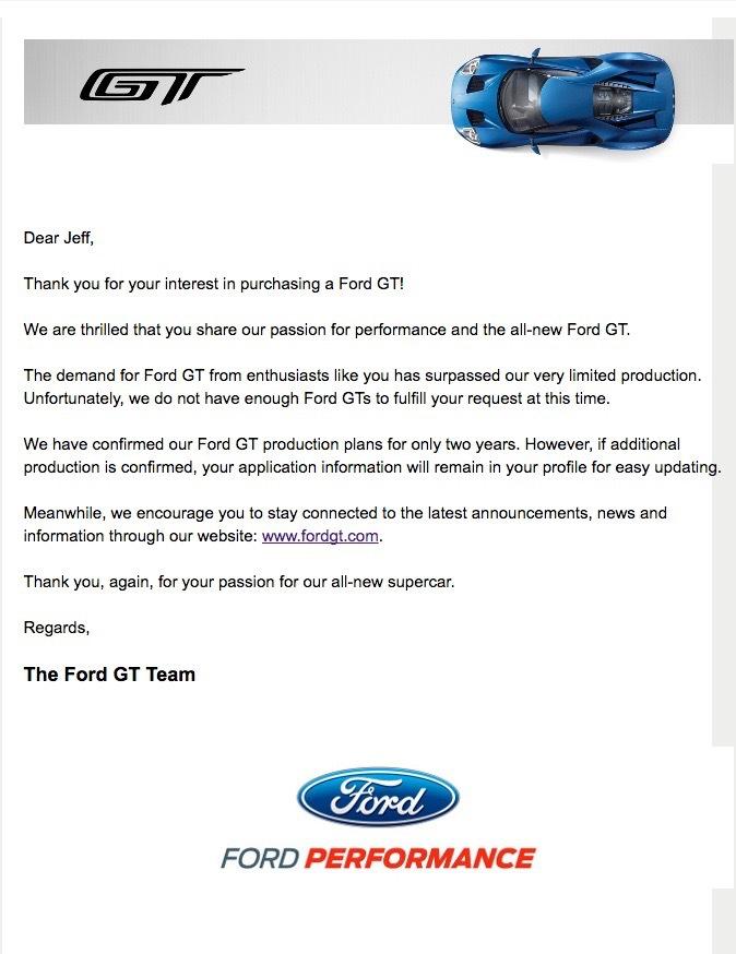 Ford Gtletter