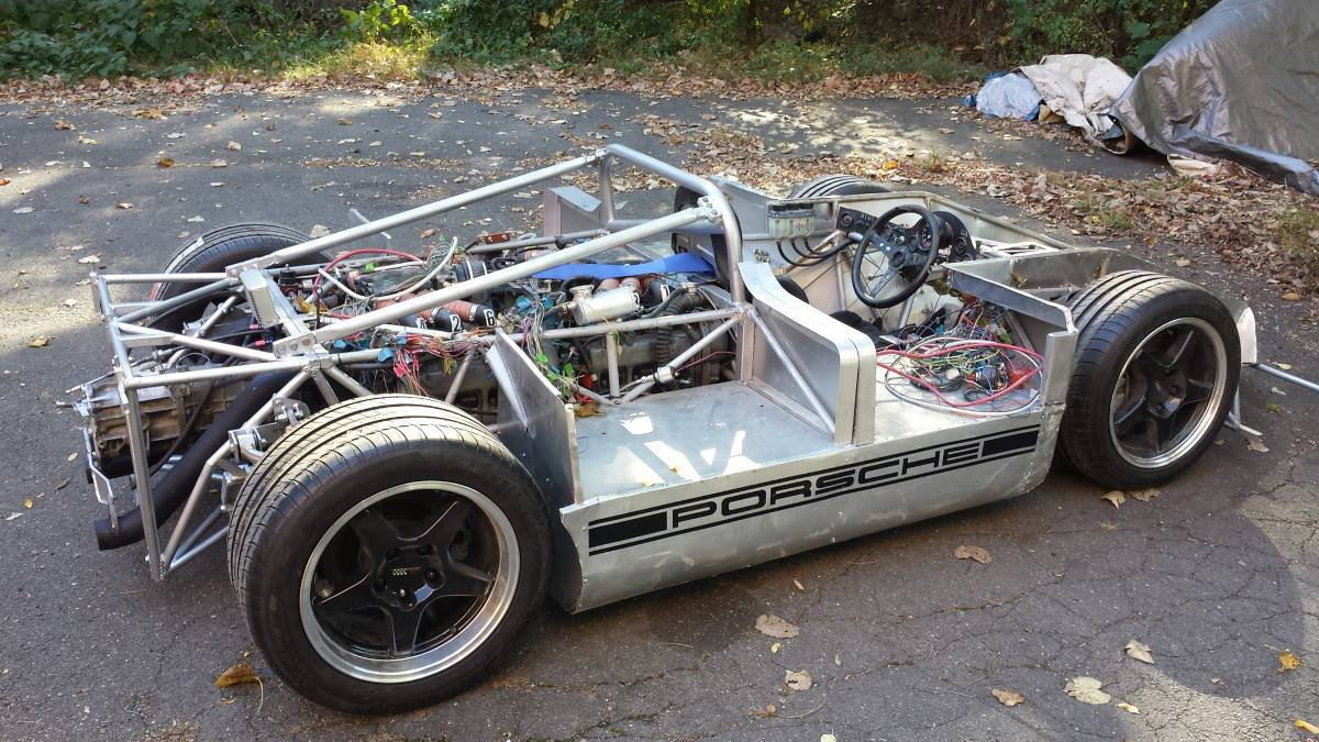 Home Built Tribute To The Porsche 917 10 Reincarnation