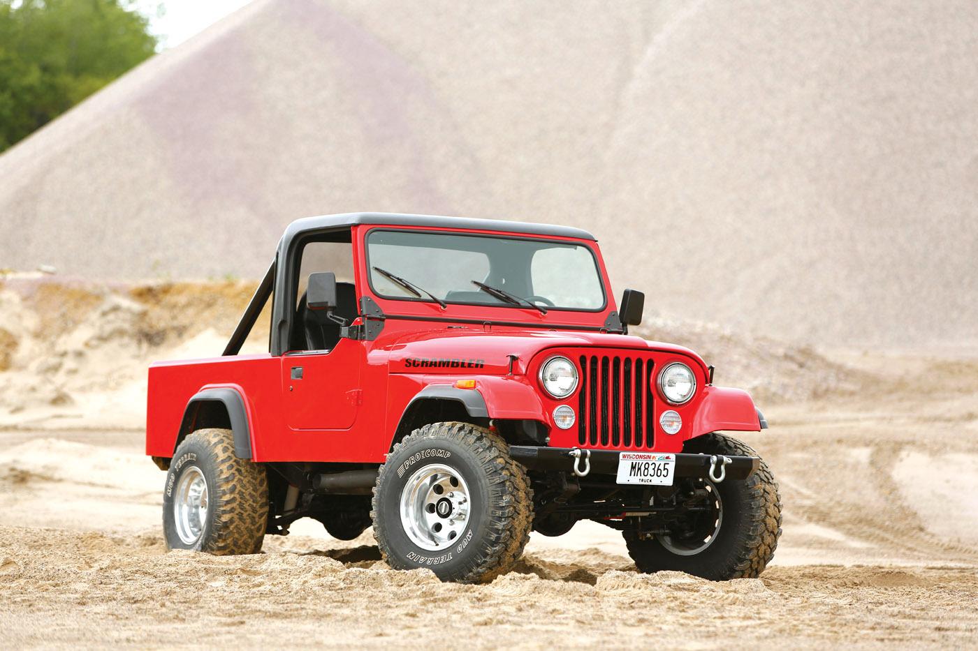 Shell Valley Cj 8 Jeep Scrambler Reincarnation Magazine