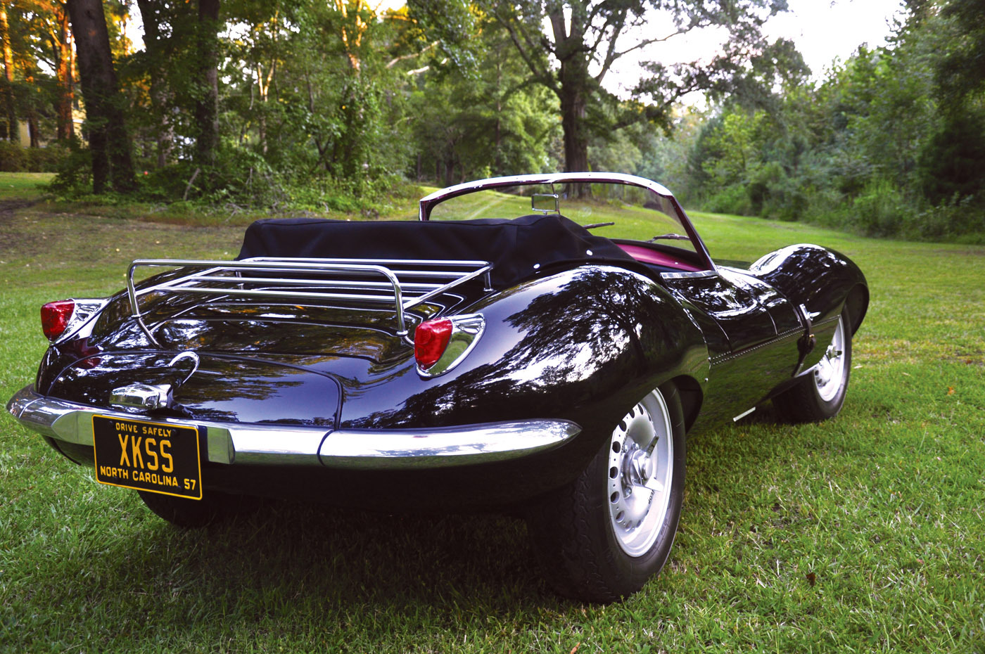 Lynx Motors Jaguar Xkss Reproduction Reincarnation Magazine