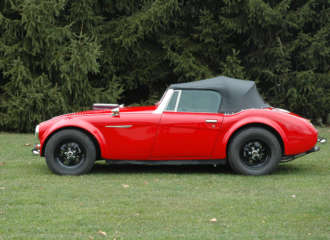 Big Block Austin Healy Reproduction Roadster 2