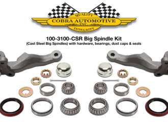 Cobra Automotive Spindles