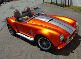 Factory Five Tangerine Cobra 1