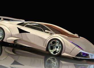 Strickland Racing Aluminum Composite Chupacabra Supercar 1