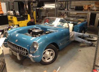 Ultimate Classic Cars 1953 Corvette Replica