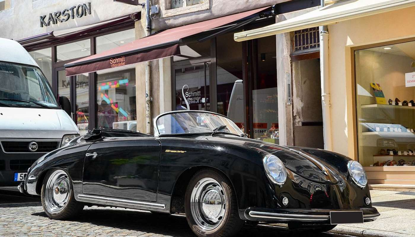 James Dean Porsche Found Porsche Car