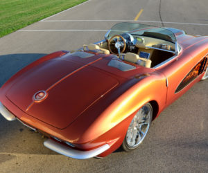 1962 Copper Corvette Frame 6