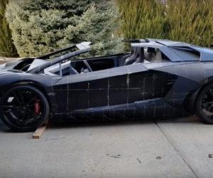 3 D Lamborghini 1