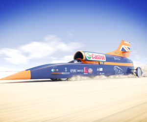 Bloodhound Supersonic Project Car 1