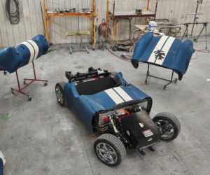 Oak Ridge National Laboratory 3 D Printed Shelby Cobra 2