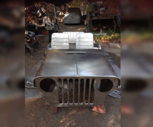 Stainless Jeep 1