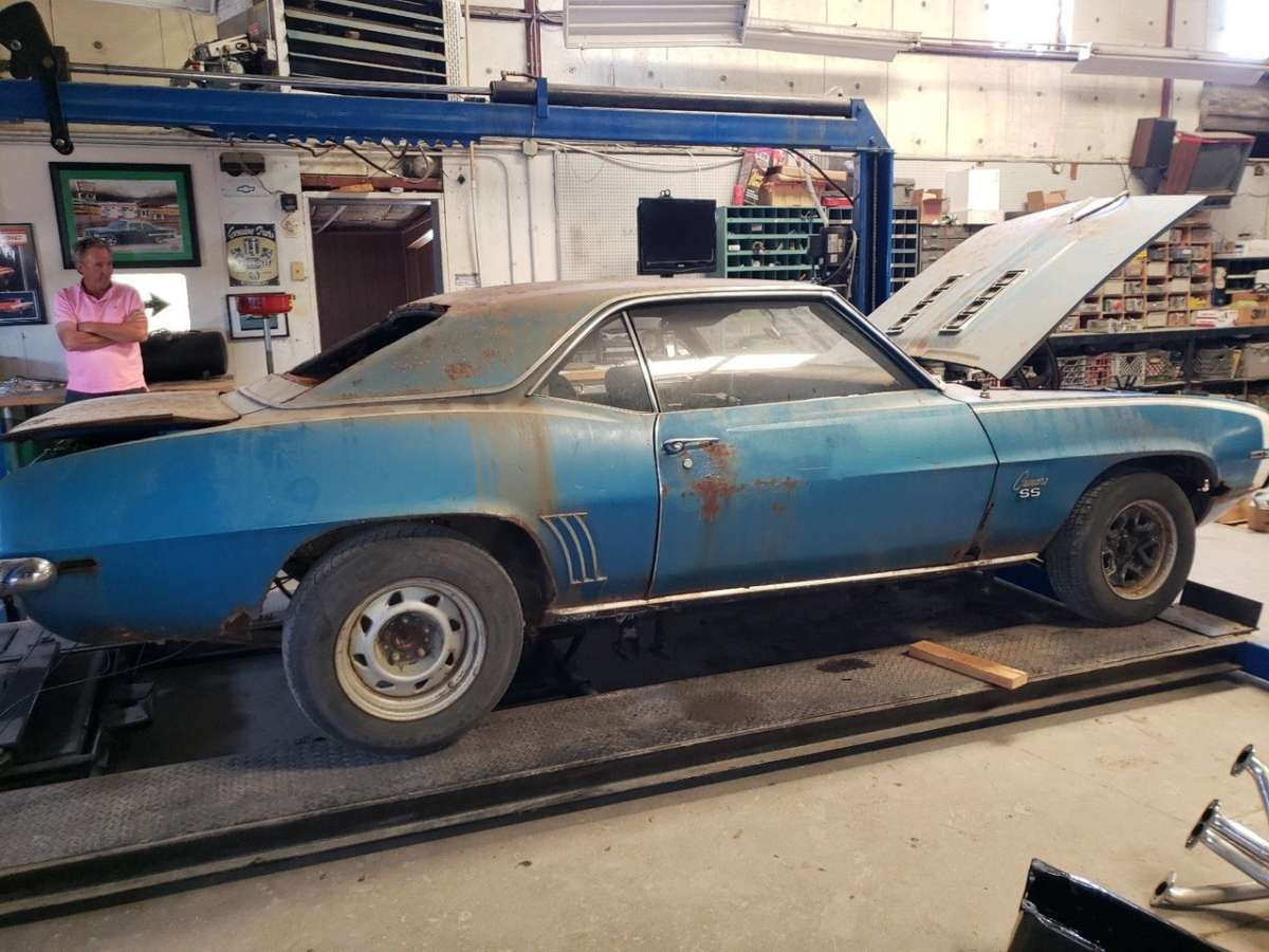 Restore, Restart or Wrecked: 1969 Camaro SS | ReinCarNation