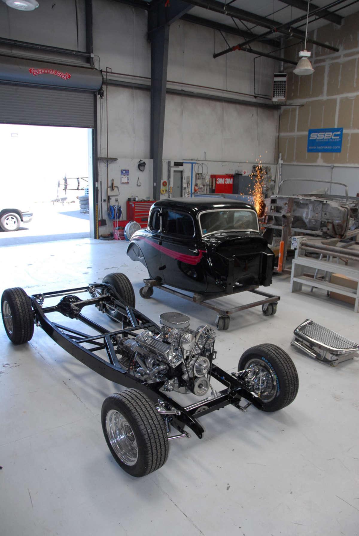 Transfering a \'34 Ford body onto a modern… | ReinCarNation Magazine