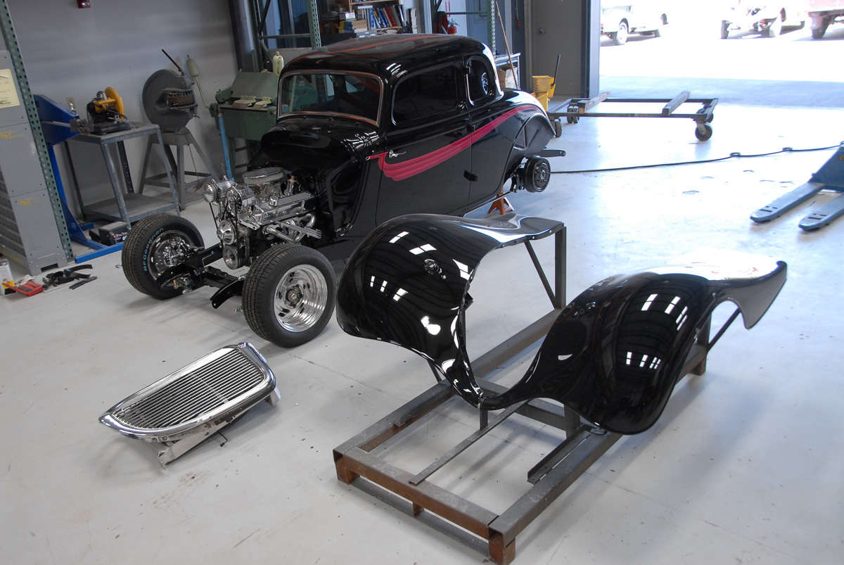 Transfering A 34 Ford Body Onto A Modern Reincarnation