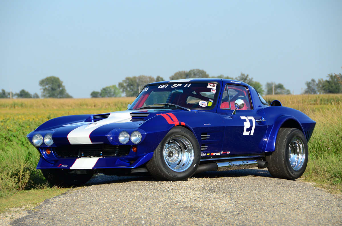 63 Corvette Grand Sport Track Car And ReinCarNation