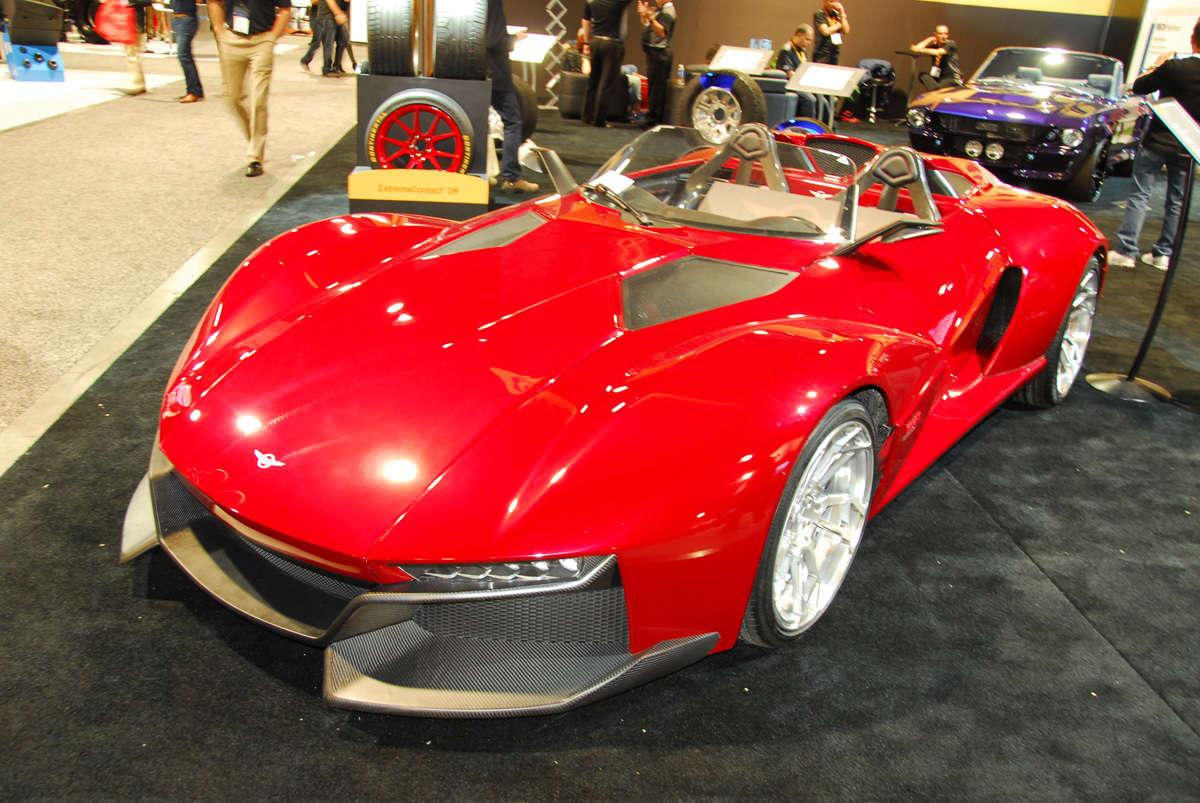 Sema Car Show Reincarnation Magazine