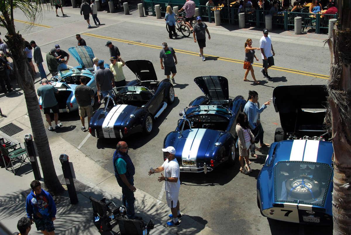 Factory Fives Makes The Scene In ReinCarNation Magazine - Huntington beach car show
