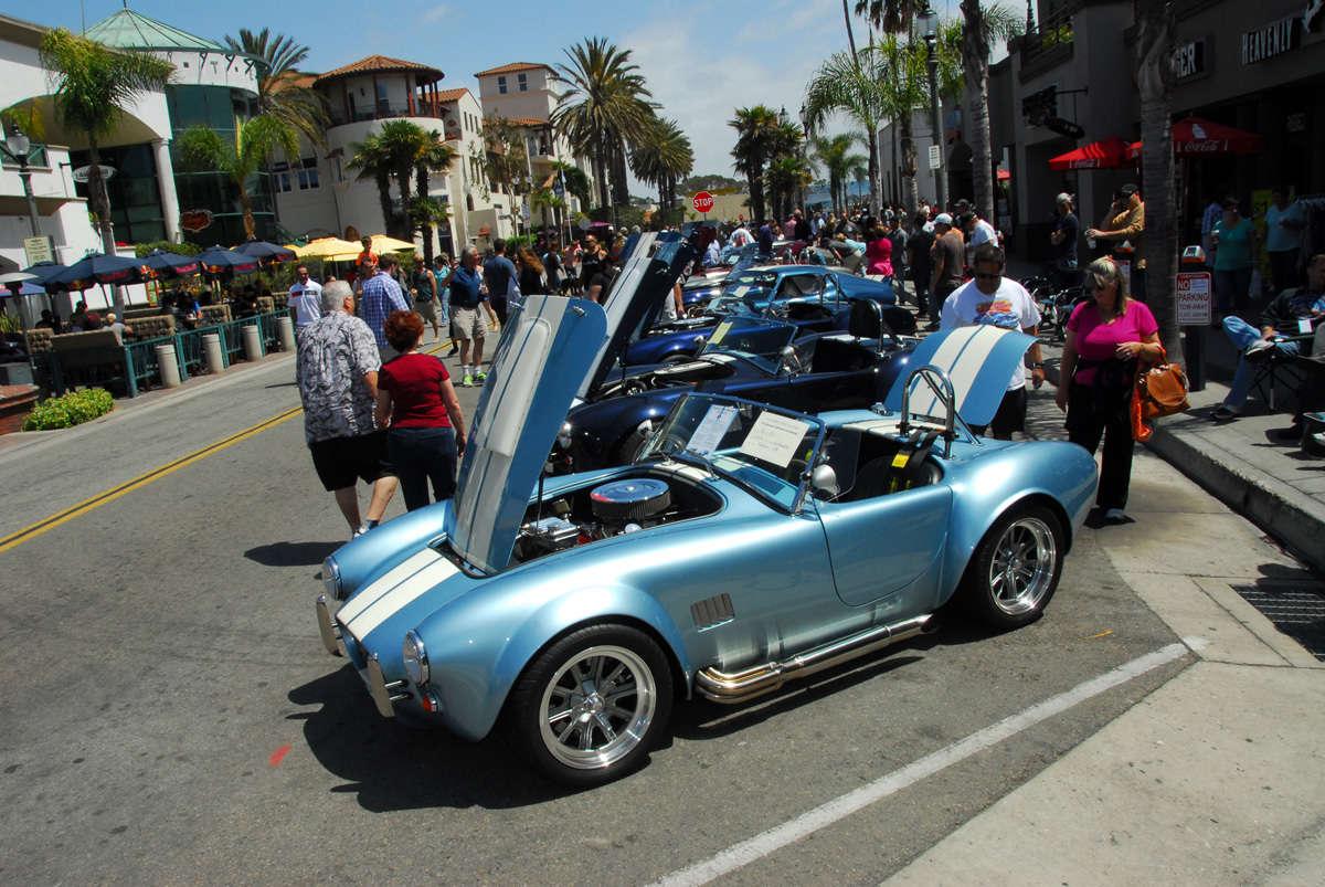 Huntington Beach Car Show Main Street
