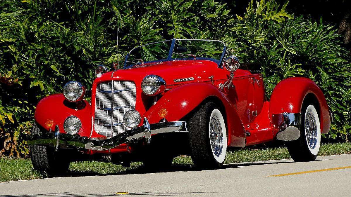 36 Gas Range >> 1936 Auburn Boattail Speedster Replica for ...