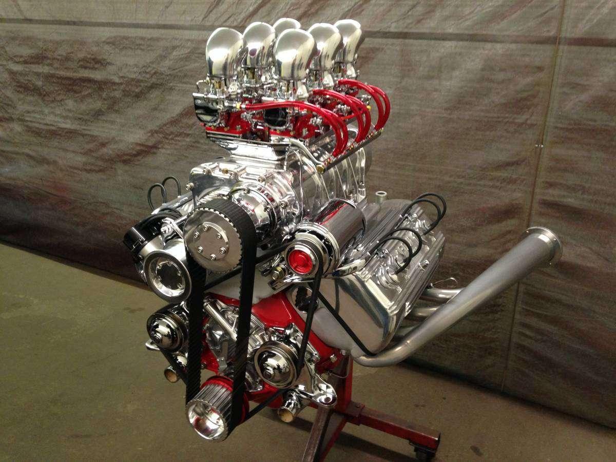 Ardun Ford on Ford Flathead V8 Engine Parts