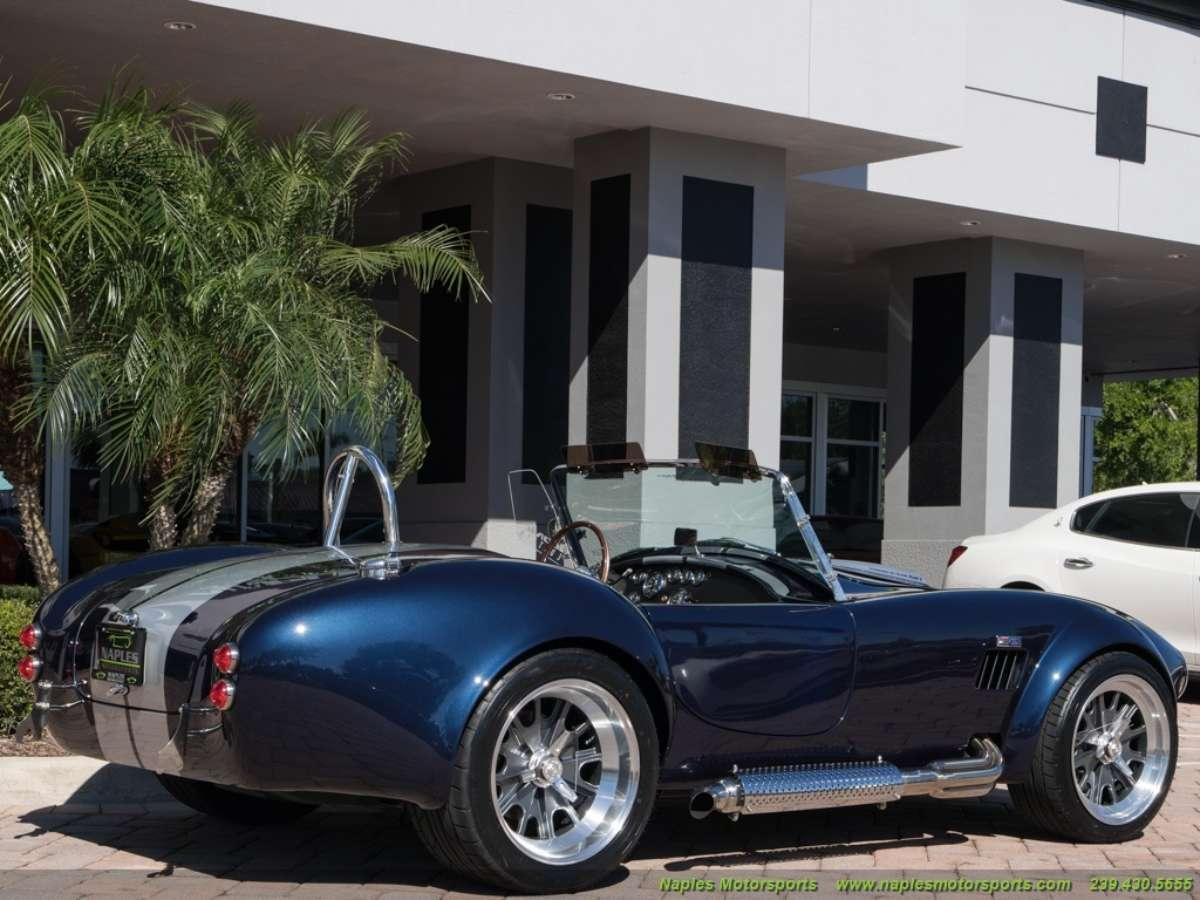 Backdraft Iconic Edition cobra roadster | ReinCarNation Magazine