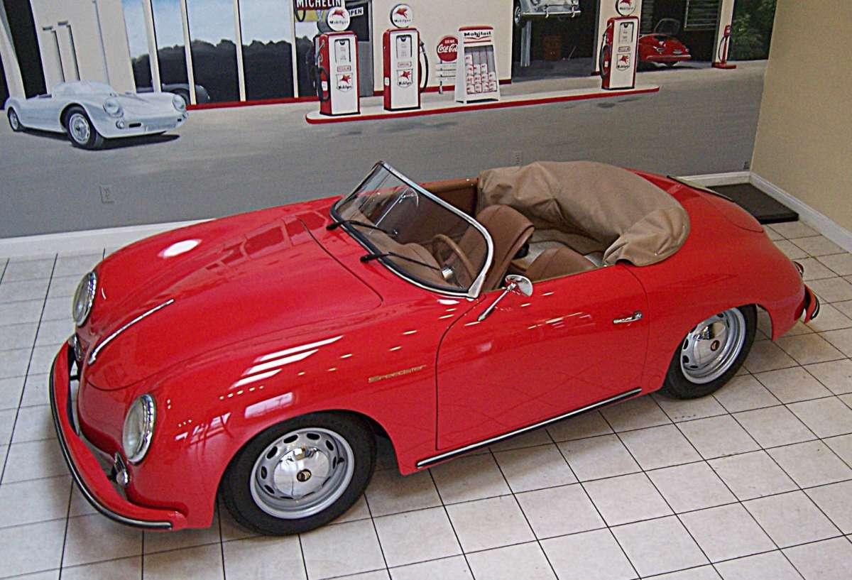 2015 Beck Speedster Porsche 356 Replica Reincarnation