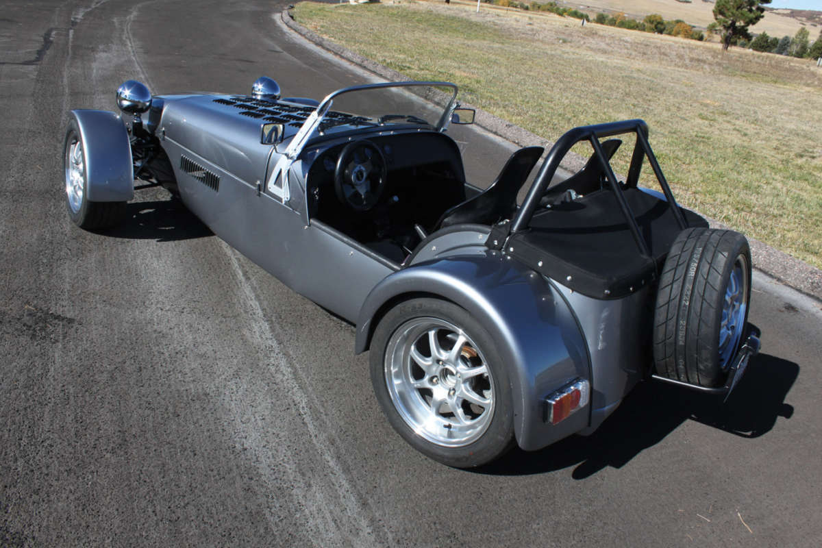 Lotus 7 kit car usa - While Slightly Larger Displacements Can Be Fitted Plus Other Engine Makes This Demo Car