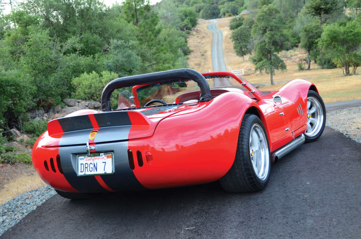 Ford Escape Dimensions >> C4 Corvette-based Dragon Roadster | ReinCarNation Magazine