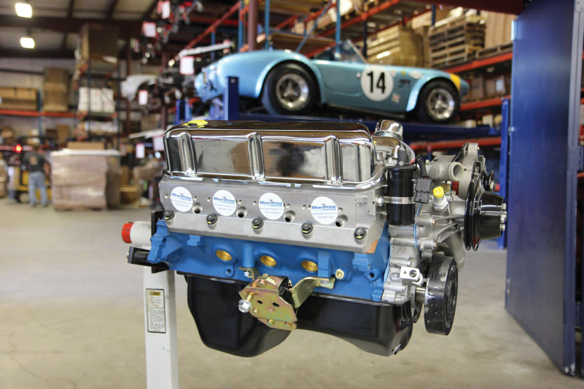 Blueprint engines joins factory five racing reincarnation magazine they factory fives 289 usrrc replica typically runs a small block ford v8 in keeping cobra blue print engines malvernweather Gallery