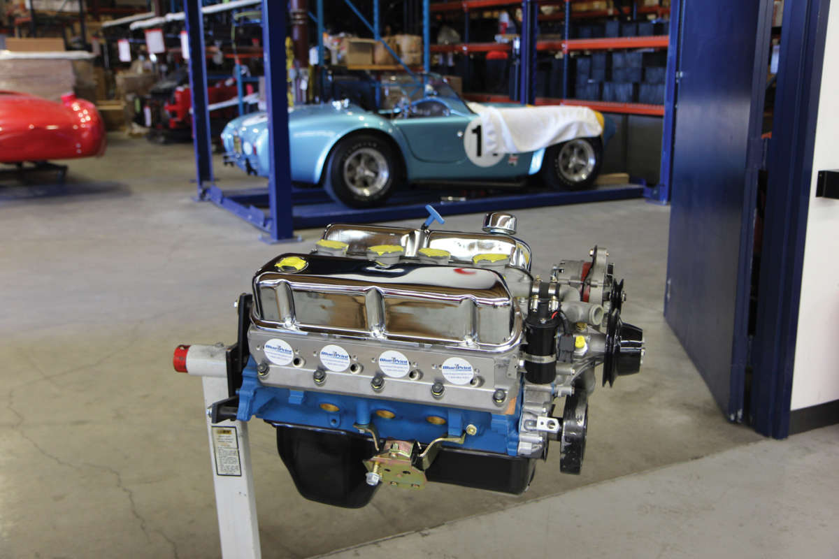 Blueprint engines joins factory five racing reincarnation magazine cobra blue print engines b4 malvernweather Gallery