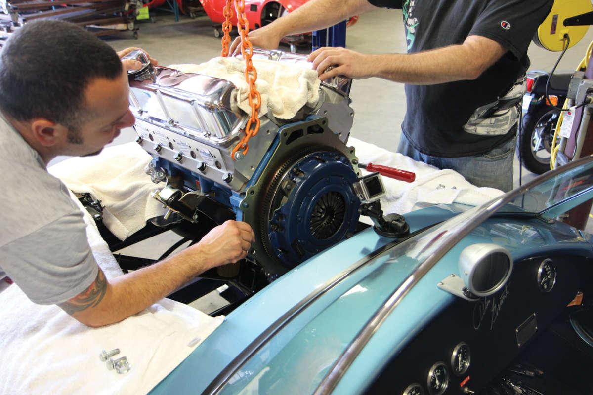 Blueprint engines joins factory five racing reincarnation magazine cobra blue print engines b9 malvernweather Gallery