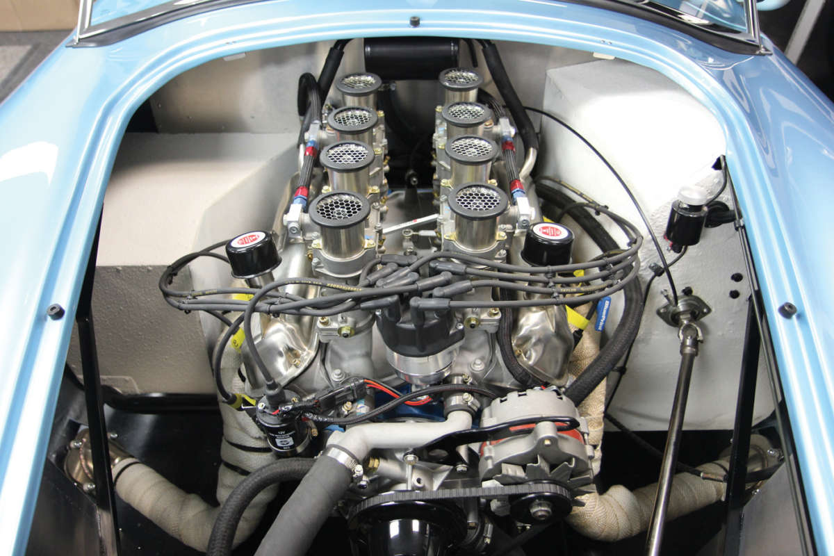 Blueprint engines joins factory five racing reincarnation magazine blueprint cobra blue print engines c15 malvernweather Choice Image