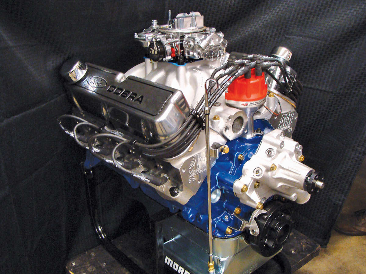 Straightening Out Ford's 351 ci Engines | ReinCarNation Magazine