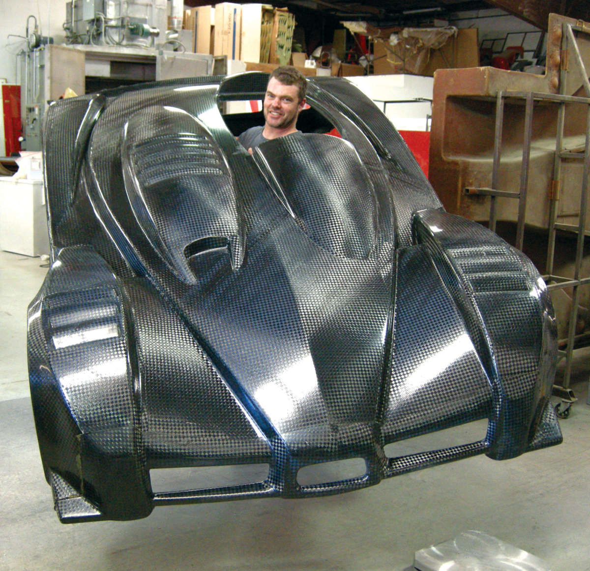 Composite Materials For The Car Builder Reincarnation Magazine
