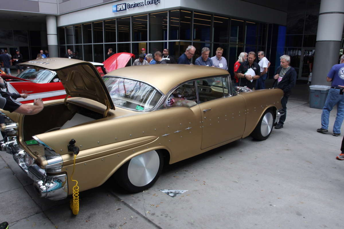 This Bolt On Electric Hybrid Kit Shown Here A 57 Pontiac Chieftain