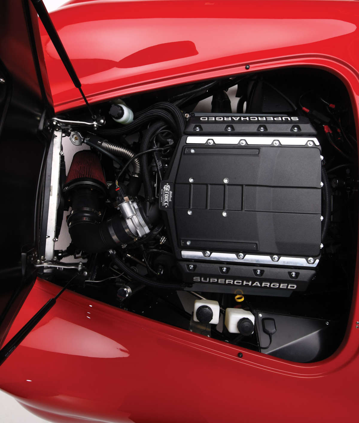 Supercharger Kits For Ford 390: FFR Cobra Boosted By Edelbrock's E-Force…
