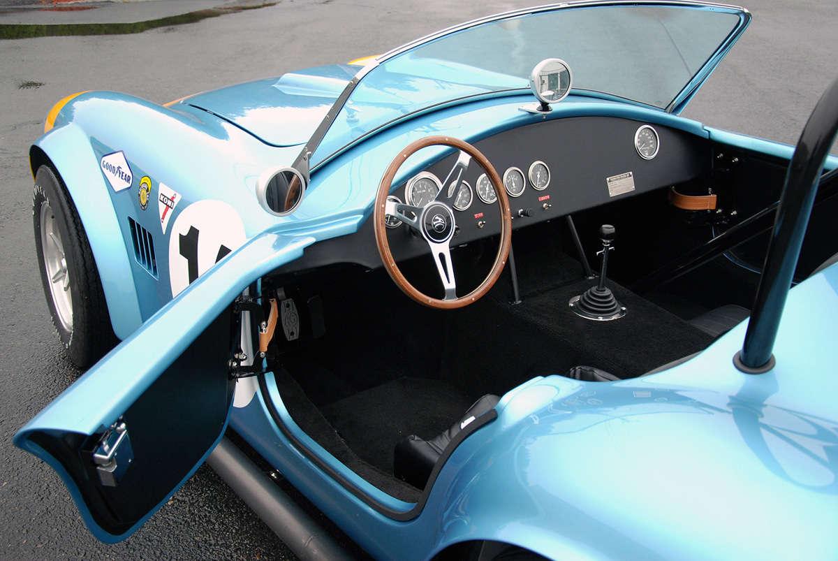 Shelby Cobra Race Car Csx2323 Replicated By 3 Reincarnation Magazine Factory Five Wiring Diagram 289 Fia 11 9