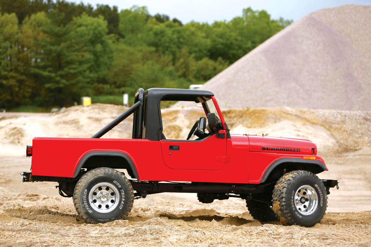 Shell Valley Cj 8 Jeep Scrambler Reincarnation Magazine
