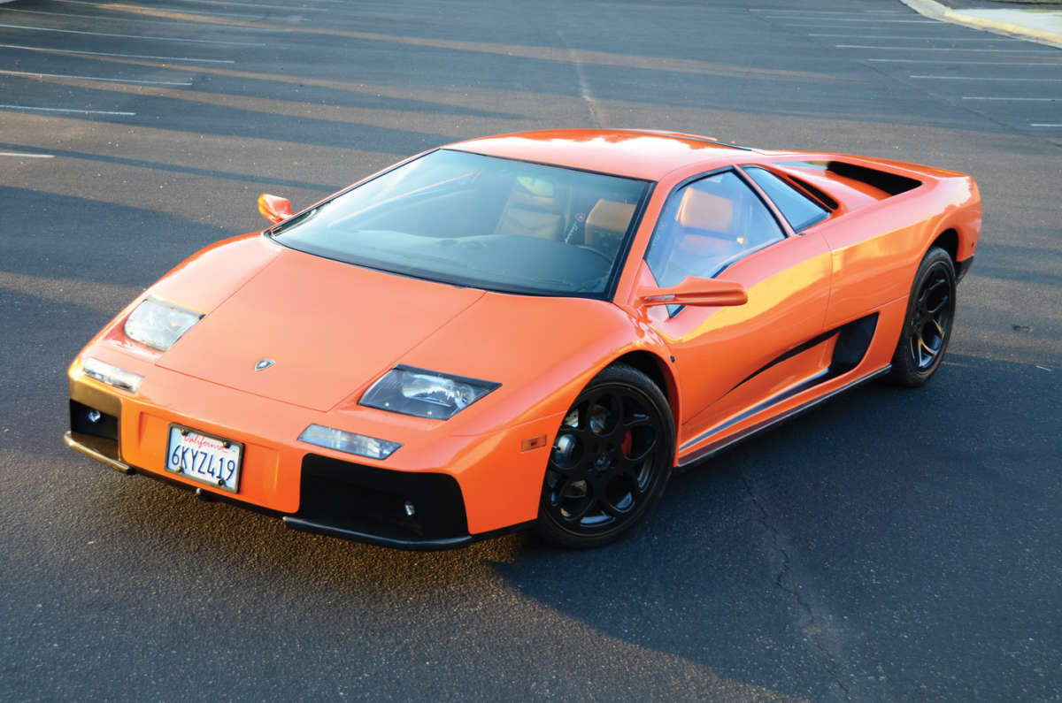 Lamborghini Diablo Replica Reincarnation Magazine