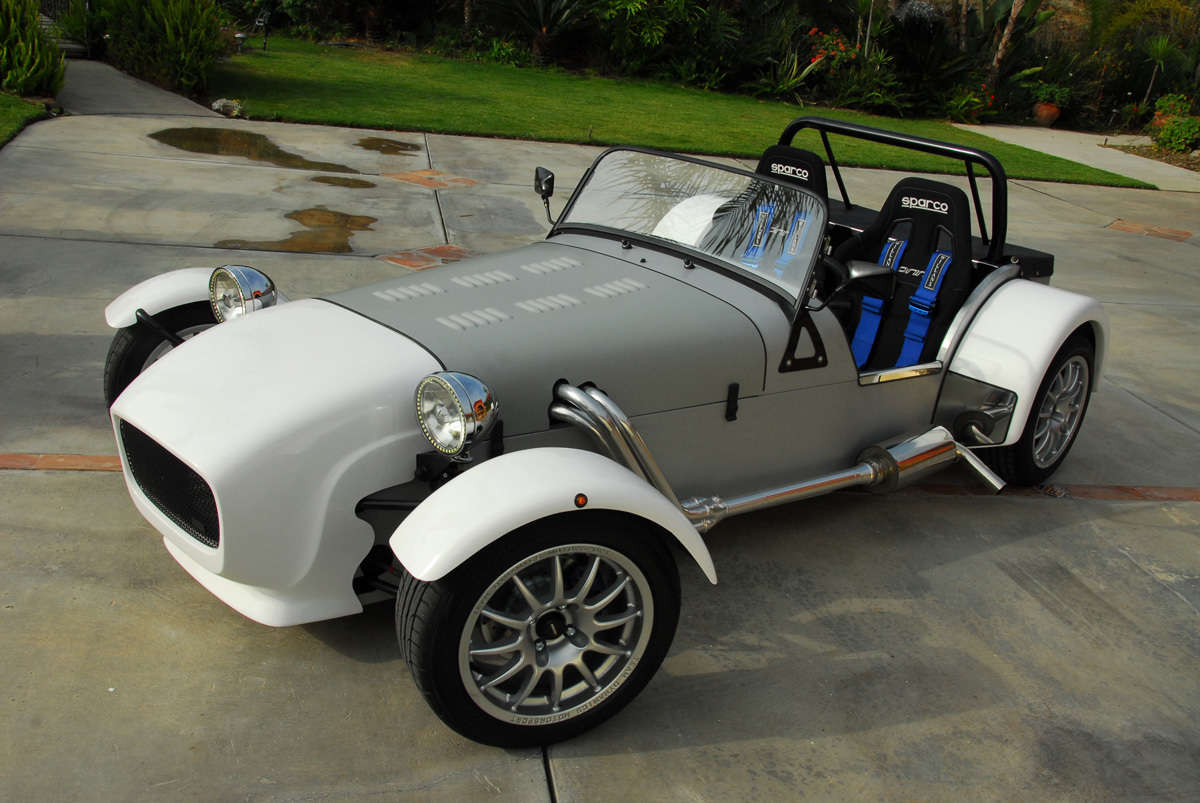 Lotus 7 kit car usa -  Miata Based Lotus 7 Style Replica 15