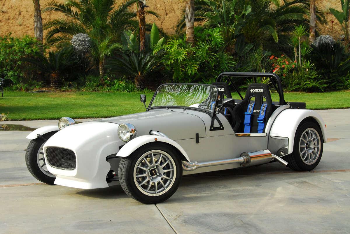Lotus 7 kit car usa -  Miata Based Lotus 7 Style Replica 9