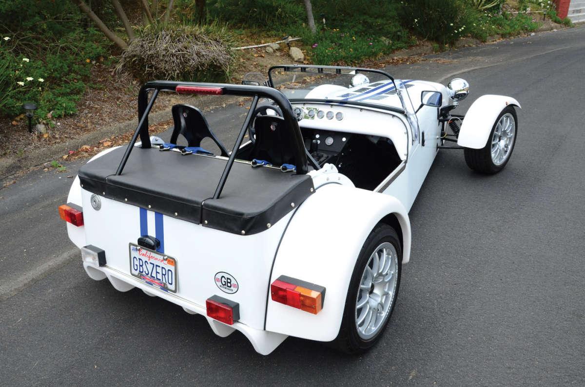 Miatabased GBS Zero ReinCarNation Magazine - Gb sports cars zero