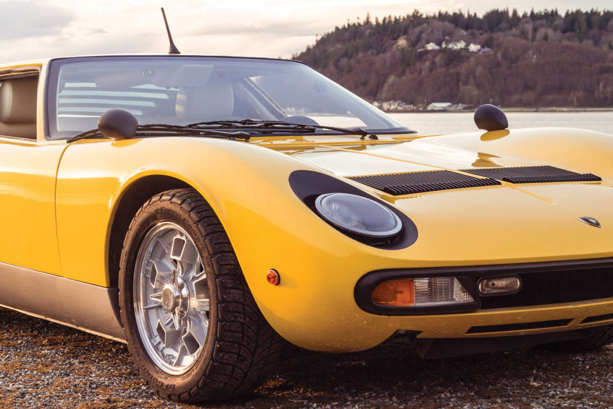 Ls3 Powered Lamborghini Miura Replica Reincarnation Magazine