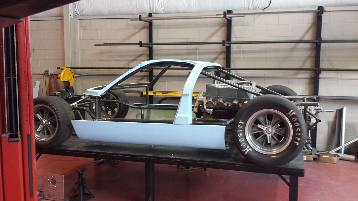 More Details on GT40 Replica Project | ReinCarNation Magazine
